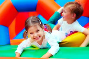 bouncy castle kids