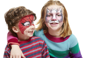 face paint kids