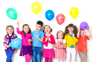 kids party happy