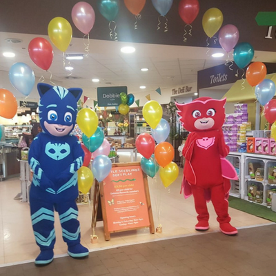 pj masks mascots meet and greet